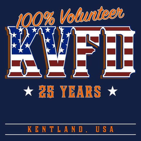 25 Years All Volunteer Anniversary Shirt