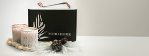 NOHO HOME Holiday Candle Gift Box Set