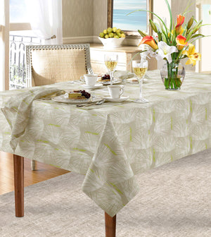 beige loulu dining tablecloth