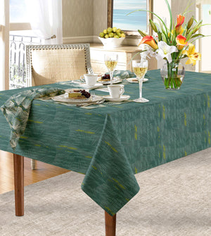 Blue loulu dining tablecloth