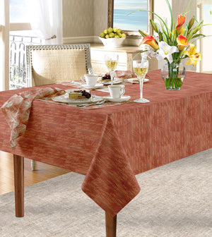 Red loulu dining tablecloth