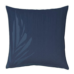 Navy hawaiiain inpsired kanu euro sham set