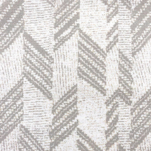 Taupe/Ivory hawaiian inspired kapa hou lumbar pillowcase closeup