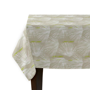 beige loulu tablecloth corner