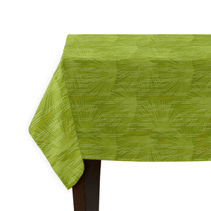 green loulu tablecloth corner