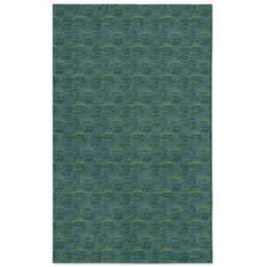 blue loulu tablecloth flat