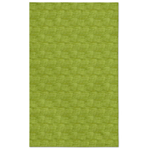 green loulu tablecloth flat