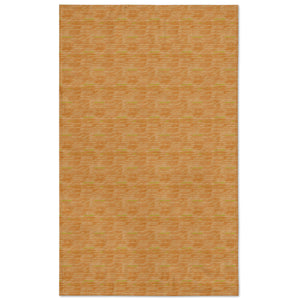 orange loulu tablecloth flat