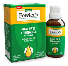 Fowler`s Echinacea with Thyme
