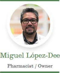 Miguel Lopez-Dee pharmacist owner