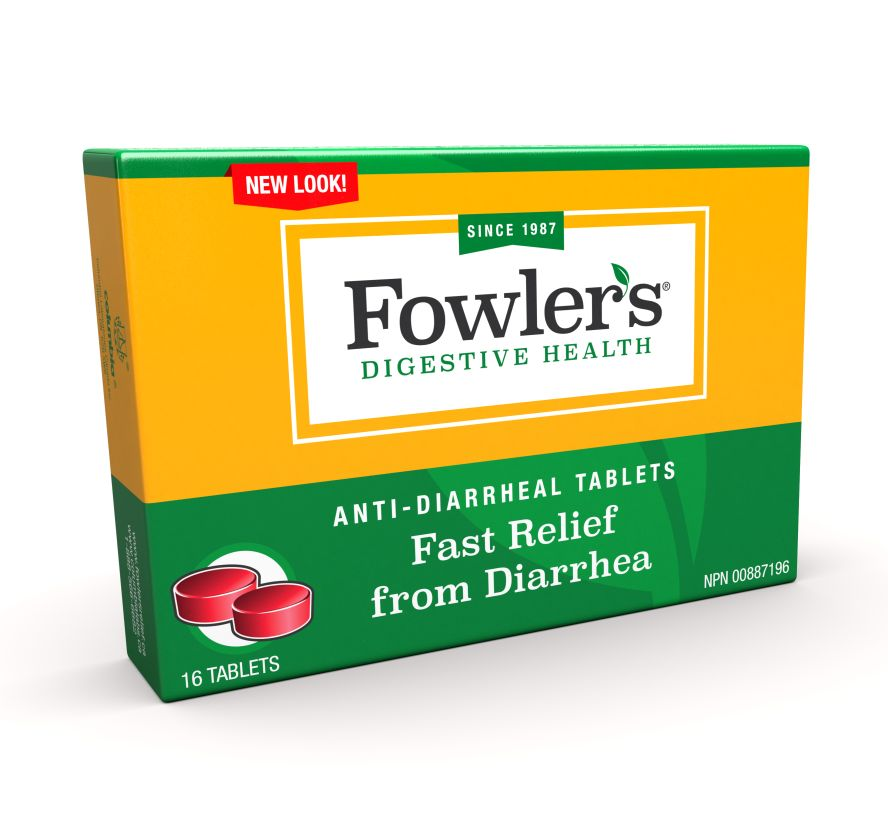 Fowlers Anti-Diarrheal Tablets