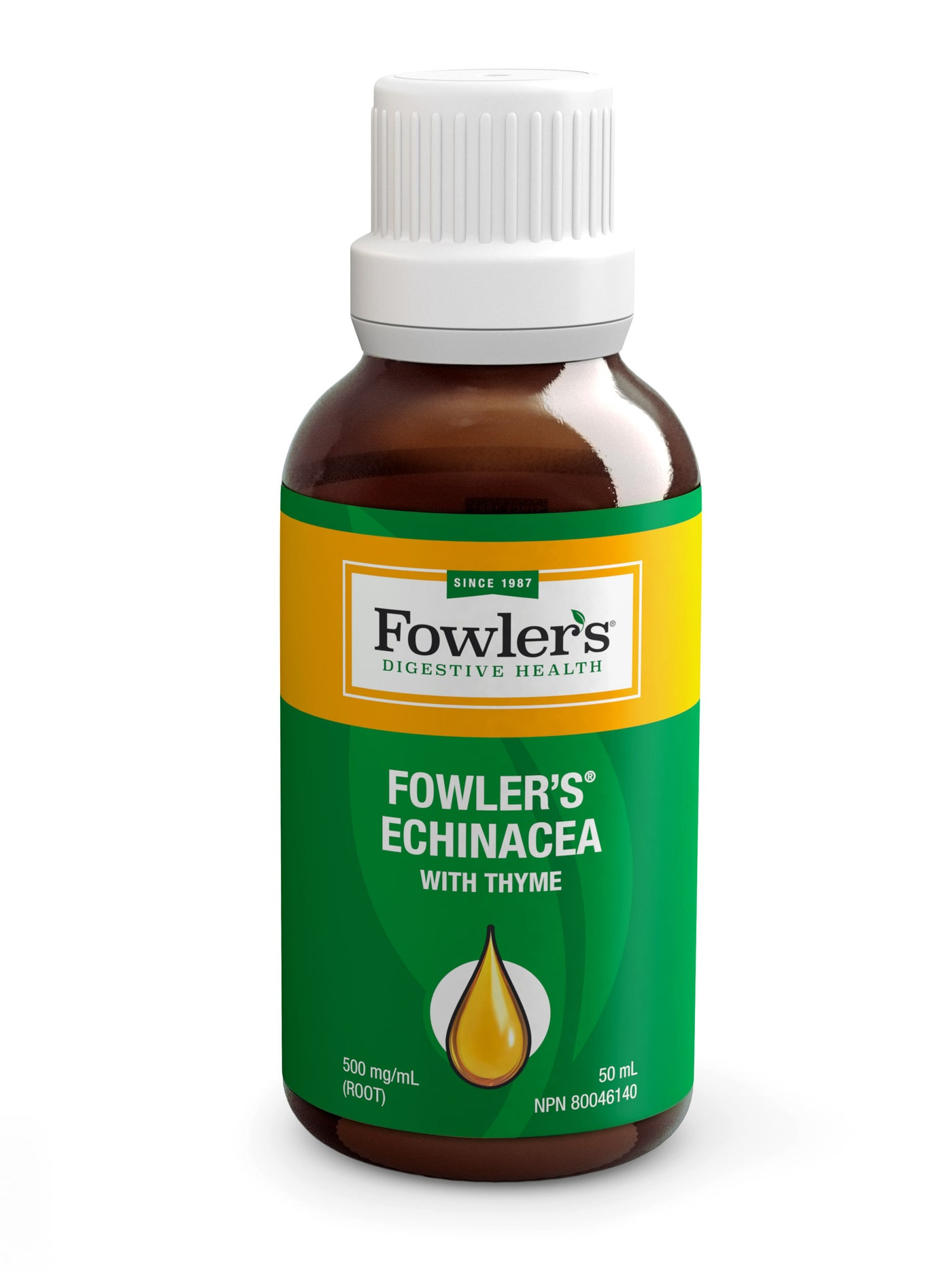 Fowler's Echinacea with Thyme (Extra-Strength 500 mg/mL)