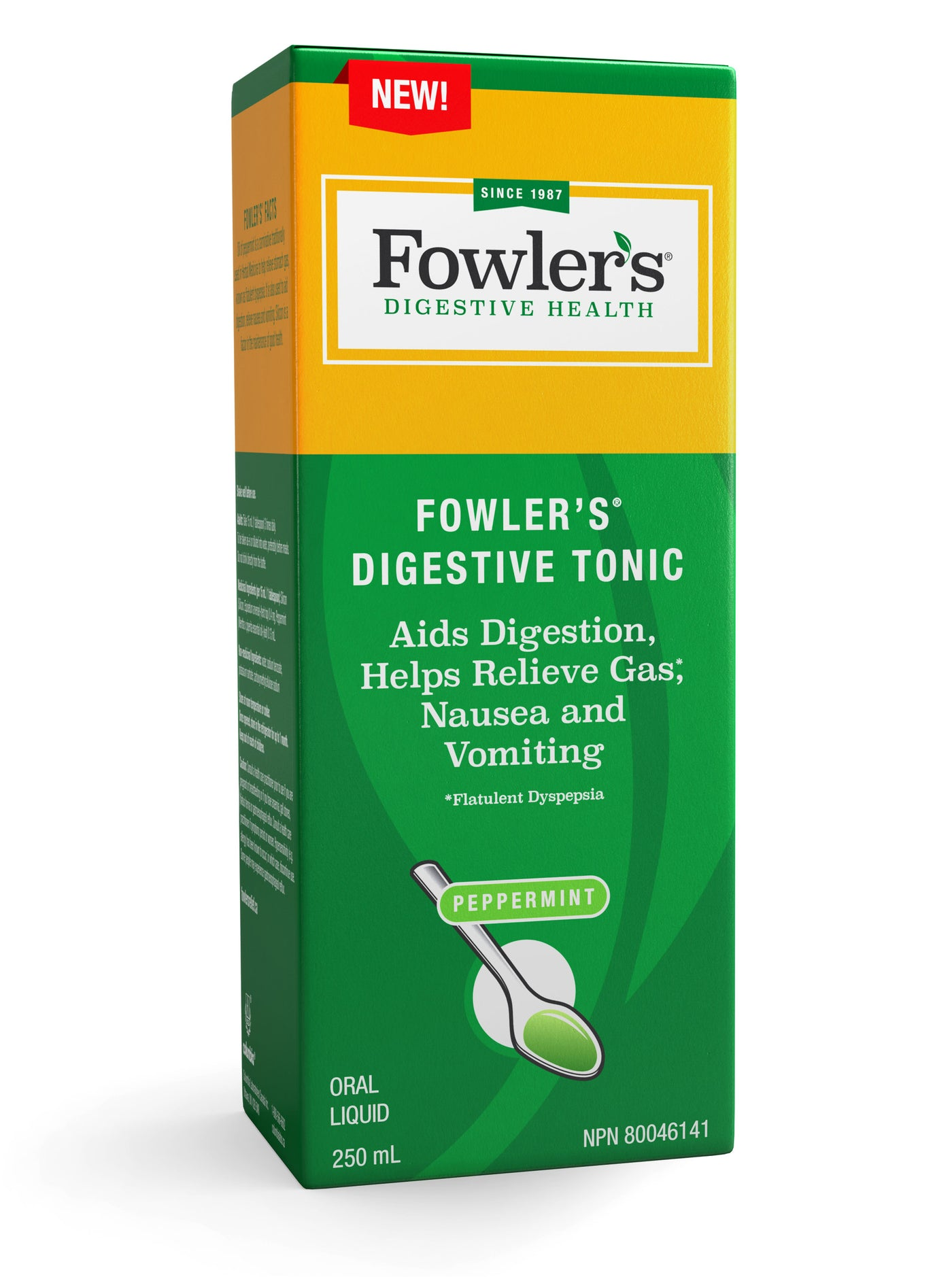 Fowler's Digestive Tonic – Aids Digestion, Helps Relieve Gas, Nausea and Vomiting