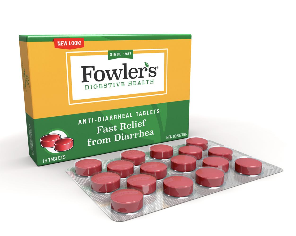 Fowlers Anti-Diarrheal Tablets<br>(Temporarily Out Of Stock)