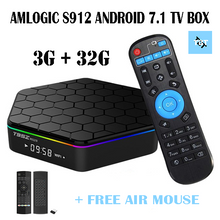 1 Year Warranty for Amlogic S912 7.1.2 Smart TV Box 3G/32G
