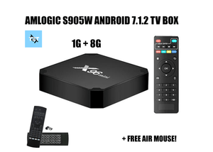 1 Year Warranty for Amlogic S905W 7.1.2 Smart TV Box 1G/8G