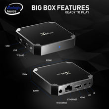 X96 Mini 1G/8G Android Smart TV Box Bundle | Plug and Play | 7.1.2 O/S