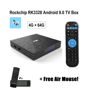 1 Year Warranty for T9 RK3228, 9.0 Smart TV Box 4G/64G