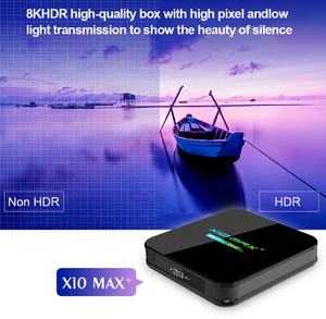 THE DIFFERENCE IN HDR AND NON HDR - X10 MAX 4G+64G ANDROID SMART TV BOX, 9.0 O/S | IPTV
