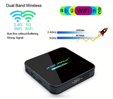 X10 4G+64G ANDROID SMART TV BOX HAS DUAL BAND WIFI!