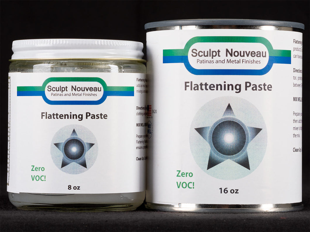 Sculpt Nouveau Flattening Paste in 8oz. and 16oz. containers