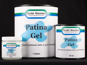 Sculpt Nouveau Patina Gel in 8oz., quart, and gallon sizes