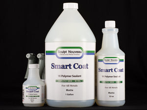 Sculpt Nouveau Smart Coat Matte in 8oz., 32oz., and 1 gallon sizes