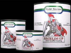 Shields Up Anti-Graffiti Coating