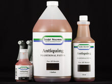 Sculpt Nouveau Traditional Antiquing Brown Patina in 8oz., 32oz., and 1 gal. sizes