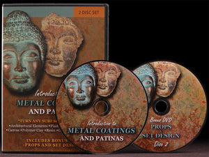 Introduction to Metal Coatings and Patinas DVD