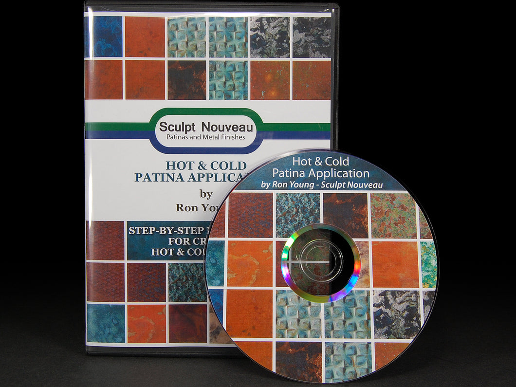 Hot and Cold Patina Application DVD
