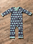 Bunny Hop Bamboo Coverall