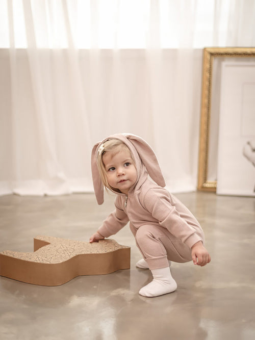 The Bunny Romper, Pink