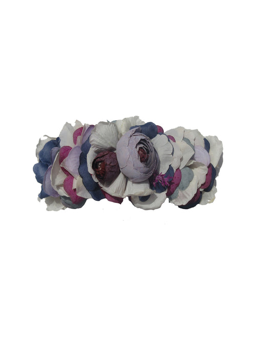 Lilah Flower Headcrown, Violet
