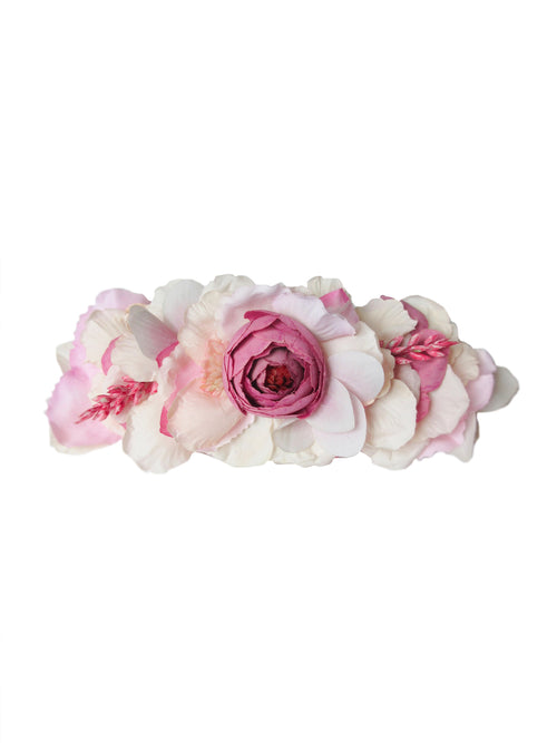 Kya Flower Headcrown, Pink