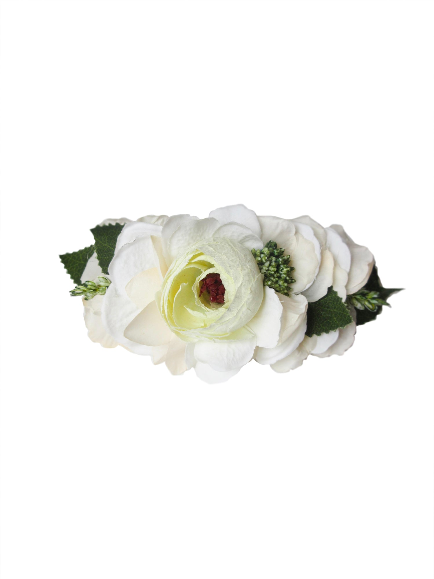 Willa Flower Headcrown, White