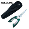 Stainless Steel - Portable Fish Control Plus Hook Removal Pliers - Pro Gear Fishing Reels
