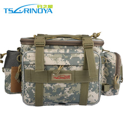 Trulinoya Fishing Tackle Bag Multi functional Lure Waist Pack Waterproof Soft Sided Shoulder Carry Storage 3 Styles Available - Pro Gear Fishing Reels