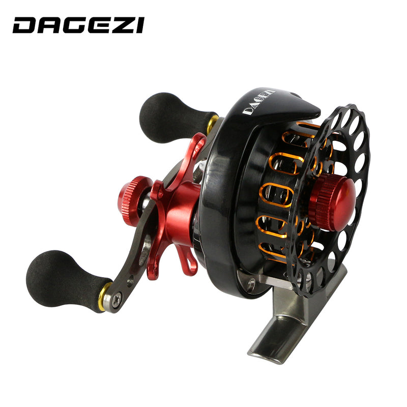 DAGEZI Fly Reel FAL65 4+1BB Right Left EVA Handle - Pro Gear Fishing Reels