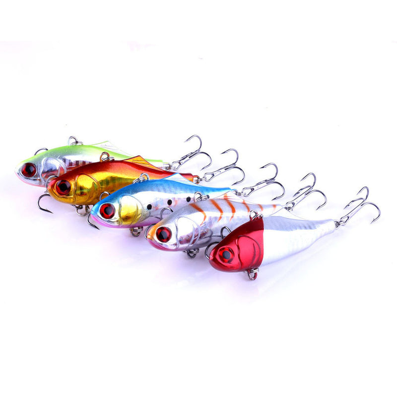 MUQGEW 2017 5PC fishing lure hard bait with lead fishing tackle diving swivel wobbler lure #GH - Pro Gear Fishing Reels