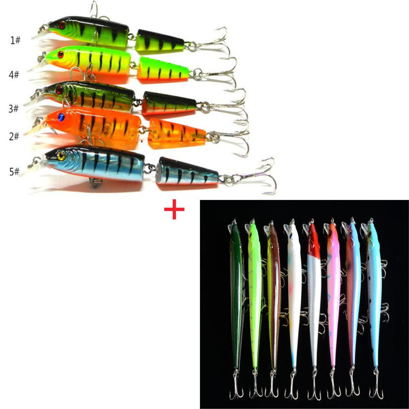 2pcs Random Color Fishing Lures with Hooks Fish Wobbler - Pro Gear Fishing Reels