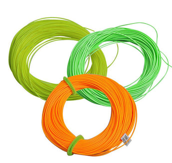 30.5M Fly Fishing Line Floating 3 Colors - Pro Gear Fishing Reels