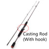 Fishing Rod M Power line wt.6-15lb Carbon Spinning and Baitcasting - Pro Gear Fishing Reels