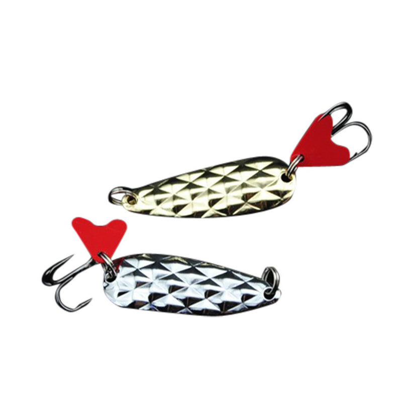10Pcs 4cm 8g Fishing Spoon Lure - Pro Gear Fishing Reels