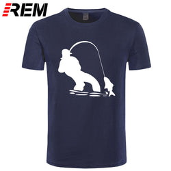 REM Authentic Tees Shing T Shirt - Pro Gear Fishing Reels
