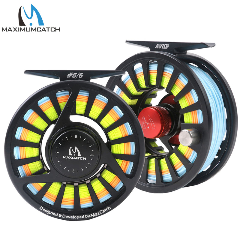 Maximumcatch 5/6WT Pre-Spooled Fly - Pro Gear Fishing Reels