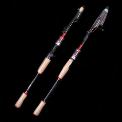 Walk Fish ML Ultra Light Telescopic Spinning Casting Fishing Rod - Pro Gear Fishing Reels