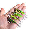 1PCS 15g 7cm Insects Artificial Spinner Bait Metal Sinking 4 Styles Available - Pro Gear Fishing Reels