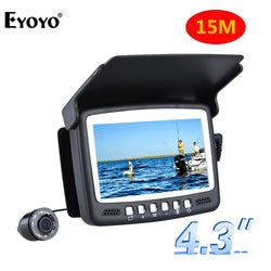 Eyoyo Original 15M 1000TVL Fish Finder Underwater Fishing Camera 4.3