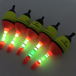 Hot Selling Night Glowing Fishing Floats 2pcs 5g EVA float Fishing Floats Night Floats - Pro Gear Fishing Reels